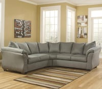 Like new two piece sectional 60 km