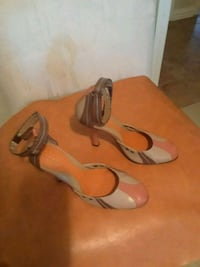 Guess/, beige,orange,brown,  ankle straps, lightly El Paso, 79907