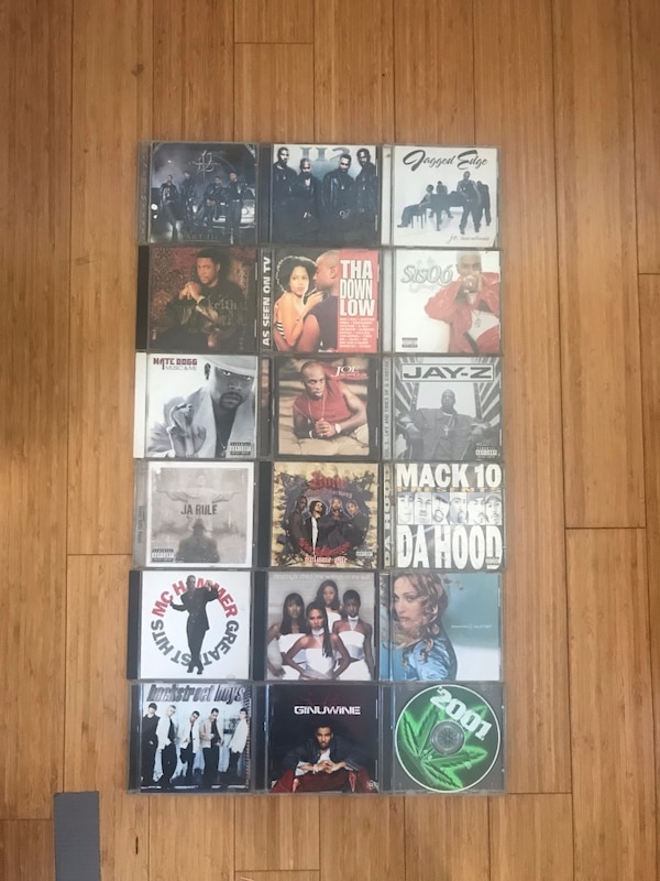 CDs 4 each (used)