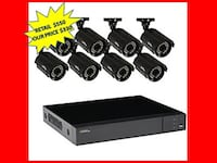 Q-See 8-Channel 1080p 1TB Video Surveillance System with 8 HD Cameras and 100 ft. Night Vision BRAND NEW