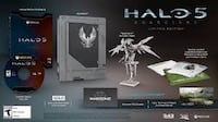 Halo 5 Limited Edition Collectibles and Game Code