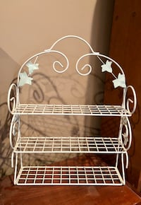 Small Metal Wall Shelf Forest, 24551