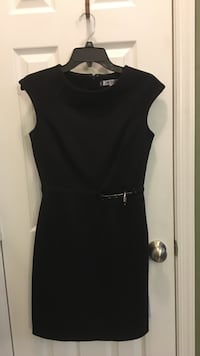 Black scoop-neck cap-sleeved mini dress Germantown, 20874