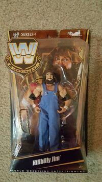"""WWE LEGEND """"HILLBILLY JIM"""" ACTION FIGURE NEW IN BOX Colorado Springs, 80910"""