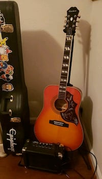Acoustic electric guitar with amp Quantico, 22134