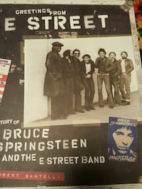 Bruce Springsteen hard covet Book Norwich, 06360
