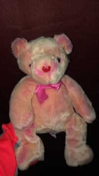 pink and white bear plush toy Whittier, 90604