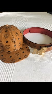 brown and black leather belt Texas City, 77590