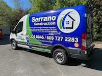 commercial wrap for van Clifton