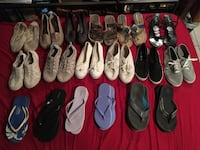 Shoes! Some never worn some very worn!