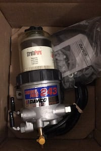 Hino  [TL_HIDDEN] 8 fuel filter housing.