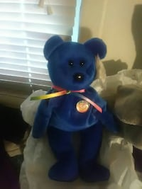 Offical clubby beanie baby in excellent condition  Tulsa, 74119