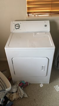 Whirl pool electric washer dryer set!!!! Practically brand new!!! Colorado Springs, 80917
