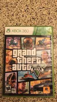 Grand Theft Auto Five Xbox 360 game case Santa Ana, 92705