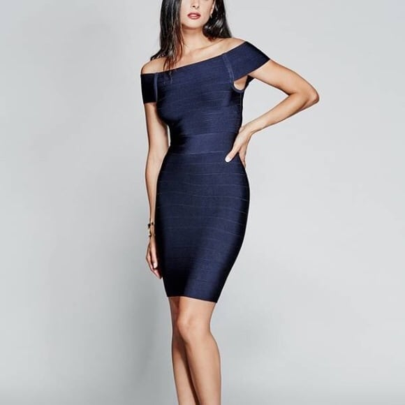 Marciano Claudie bandage dress
