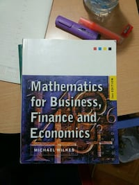 Mathematics for business,finance and economics-michael wilkes