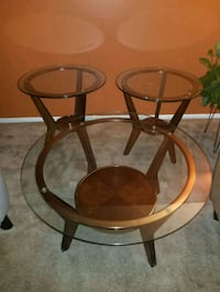 3-piece Glass Table Set Indianapolis, 46229