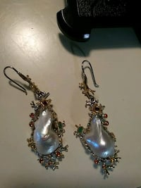 Barouqe pearl earrings Toledo, 43606