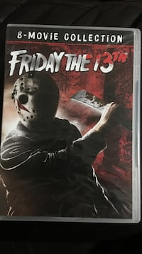 Friday The 13th 8-Disc Collection Columbia, 38401