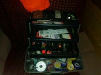 tackle box full of fishing tgings Gaithersburg, 20878