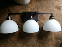 Bathroom vanity light price is firm Barberton, 44203