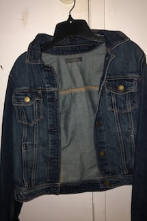 Small jeans jacket
