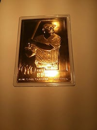 Gold plated babe Ruth cards Henderson, 89002