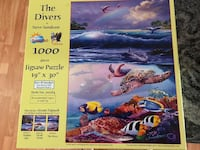 The Divers Jigsaw Puzzle, 1000 pieces Newport Beach, 92663