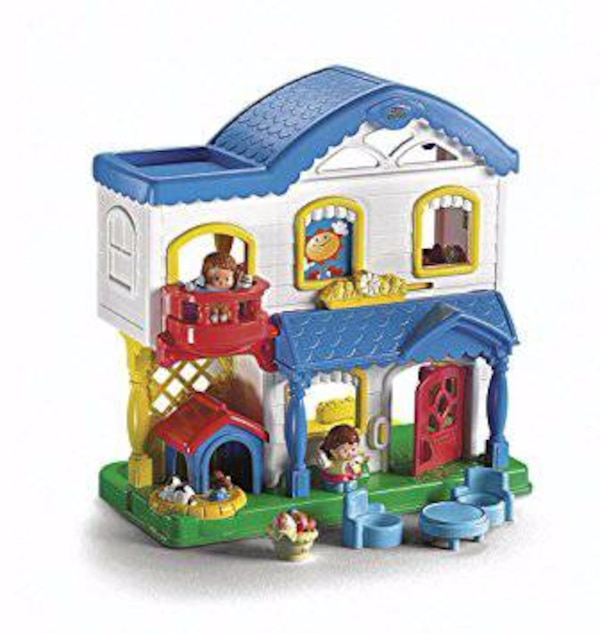 Fisher Price Little People Busy Day Doll House Usado En Venta En New