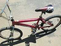 red Next BMX bike