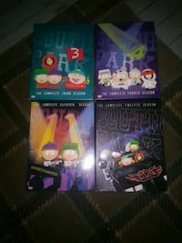 Southpark seasons 3,4,11 and 12 Chicago, 60608