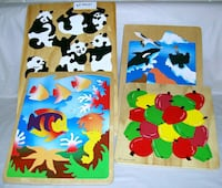 Assorted Wooden Puzzles Mississauga, L5B 3Y3