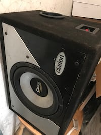 Clarion Subwoofer Calgary, T1Y