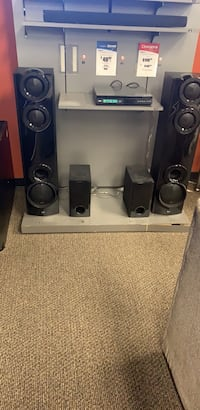 Lg surround system includes box and two tower speakers Prattville