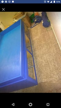 Blue twin storage bed Irving, 75062