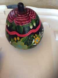 Green, pink, and yellow floral made from coconut Central Okanagan, V4T 2R2