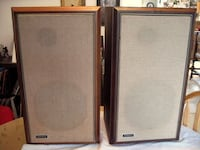 Two black-and-brown speakers Edmonton, T6X 1E1