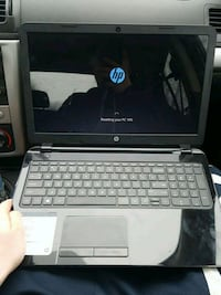 black and gray HP laptop New Castle, 16101