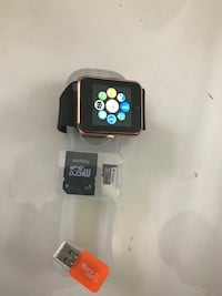 New smart watch with 512mb sd card works with Samsung iPhone lg htc bnib Vaughan, L4L