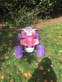toddler's pink and purple ride on toy 39 km