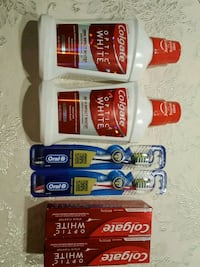 Oral care. Colgate toothpaste, Oral-b toothbrushes and mouthwash  Metairie, 70006