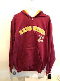 Washington Redskins Sweatshirt NFL Apparel Red Men's Hoodie NFL Size Large L. Washington, 20003