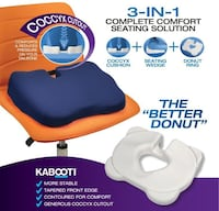 NEW KABOOTI 3 in 1 Complete Cushion: a Donut for Coccyx bone! Ottawa, K2S 0K5