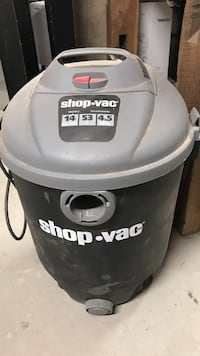 gray and black Shop-vac canister vacuum cleaner Salineville, 43945
