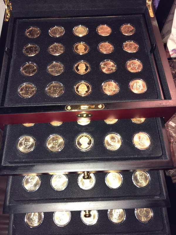 Used 24k Gold Plated Coin Collection For Sale In Windcrest