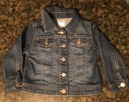 Excellent condition 12 to 18 month OLD NAVY jean jacket $5