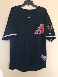 Arizona diamondback black jersey (2007-15) XL Peoria, 85382