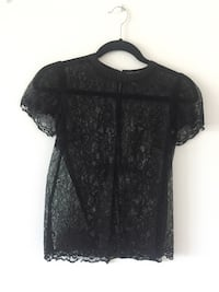 Femme de carriere black lace top, size. XS Laval, H7W 5J7
