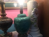 green and white table lamp 邓肯, V9L