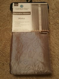 2 curtain panels BRAND NEW St. Louis, 63123